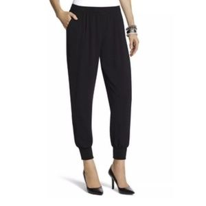 Chico's Pants - Chicos Size 1 Chic Track Pants Ankle Jogger